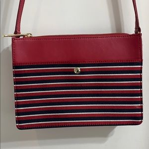 Talbots Red, White and Blue Crossbody